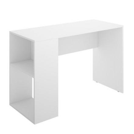 Mesa escritorio juvenil CHIC tablero de partículas melaminizado color blanco 115x50x74 cm